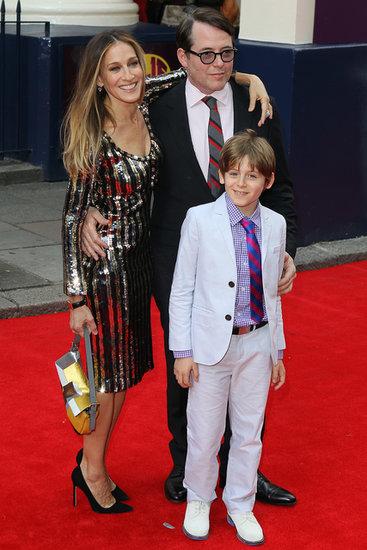 Sarah Jessica Parker Brings Her Boys to the Theatre