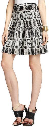 BCBGMAXAZRIA Albie A-Line Skirt