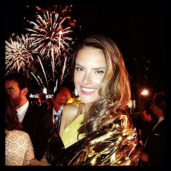 Alessandra Ambrosio kicked off her Summer adventures with a trip to the 2013 Cannes Film Festival in late May.  Source: Instagram user alessandraambrosio