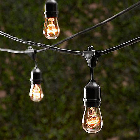 Consider these Vintage String Lights ($99) a playful yet still sophisticated option for all your outdoor Summer soirees.