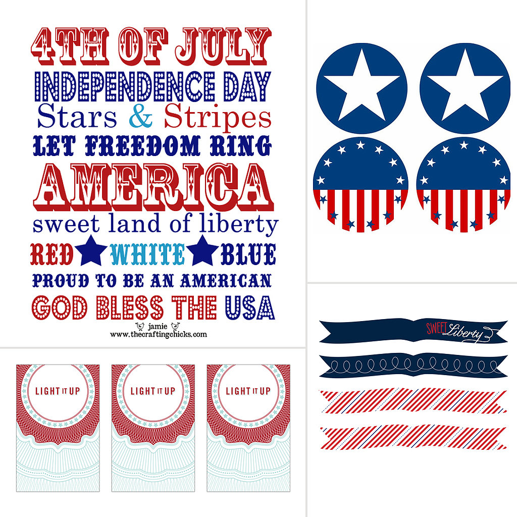 Free Fourth of July Printables For Festive Celebrations