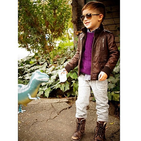 His future's so bright, he needed new shades. Source: Instagram user luisafereandmateo