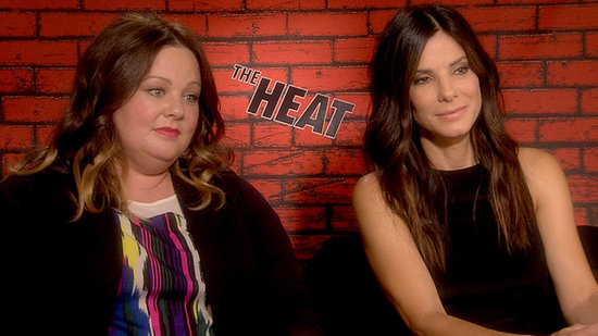"Sandra Bullock and Melissa McCarthy Enjoy ""Not Behaving"" on Film"