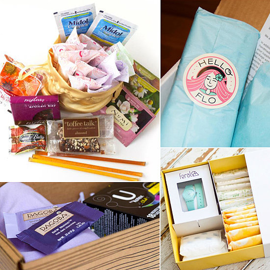 Look Forward to Your Monthly Visitor With a Subscription Period Box