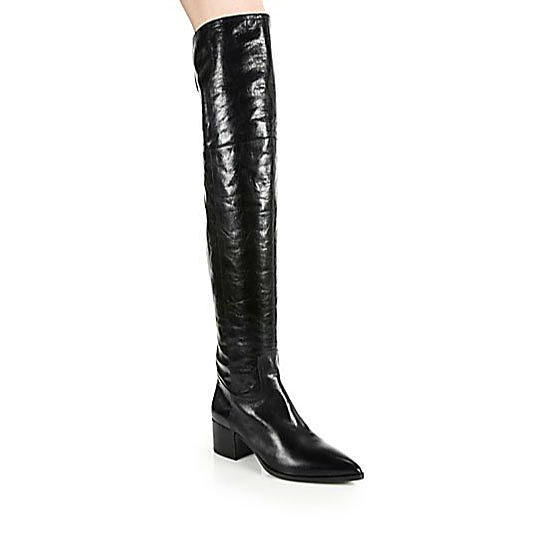 Boots, approx $1,372, Miu Miu at Saks Fifth Avenue