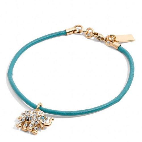 Elephant Cord Bracelet