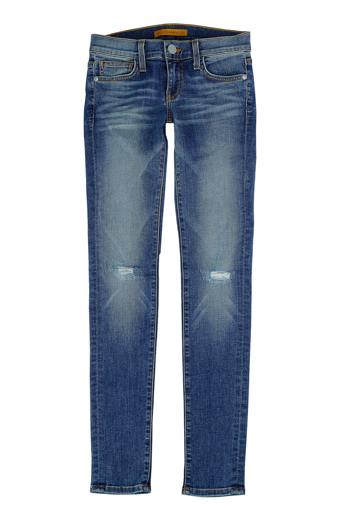 And of course, you can't ever go wrong with a classic. When all else fails, this medium-wash Jane skinny jean ($118) can be your go-to. Photo courtesy of Rebecca Minkoff
