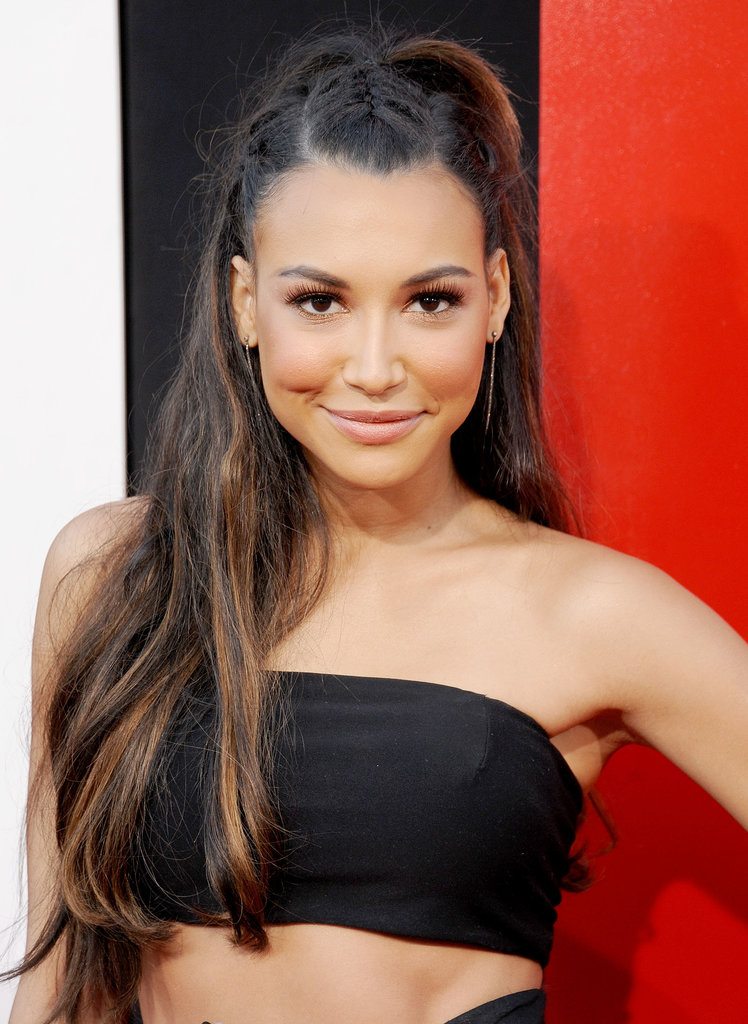 """I had really bad skin for a while,"" Naya Rivera told People. ""It was pretty embarrassing going to work every day and having to be on camera and having the makeup artists be like, 'Oh, what's going on?' It was a point of insecurity for me."""