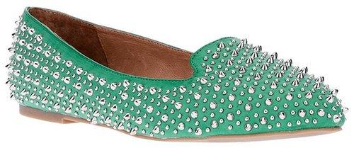 Jeffrey Campbell studded loafer