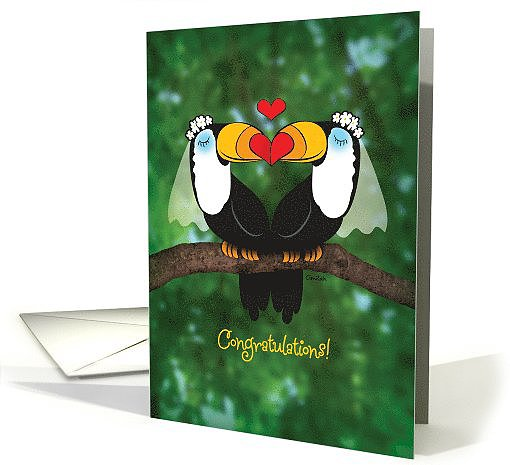 Toucan wedding ($3)