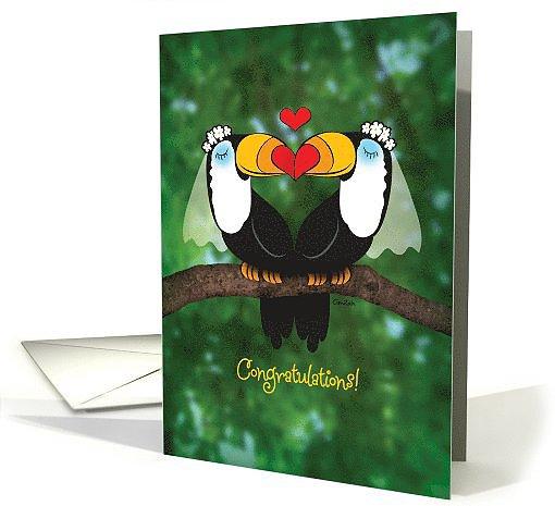 Toucan wedding ($3)