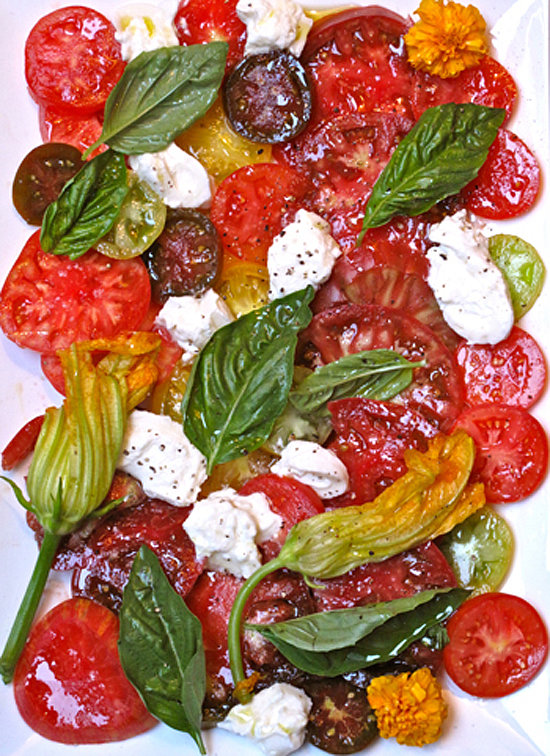 Tomatoes With Burrata