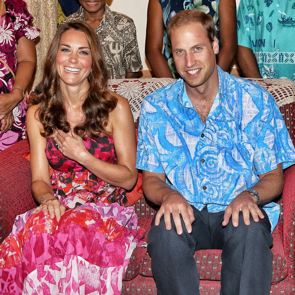 In September 2012, Kate Middleton and Prince William donned traditional island clothing when they visited the governor general's house in the Solomon Islands.