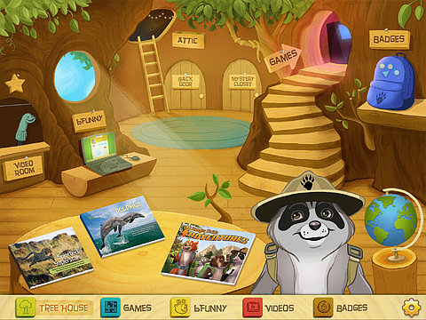 Cool App Alert: Ranger Rick's Tree House