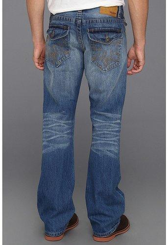 Mek Denim - Neil Classic Boot Flap Jeans in Toke Light Wash (Toke Light Wash) - Apparel