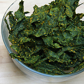 Cheesy Curry Kale Chips Recipe