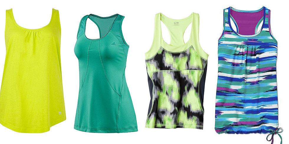 10 Fresh Tank Tops For Your Next Summer Workout