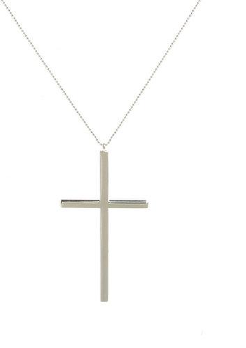ASOS Oversized Cross Pendant Necklace