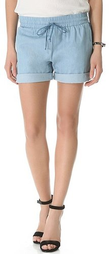 Riller & fount Drawstring Shorts with Contrast Side Panels