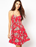 Score big with this effortlessly pretty Only Floral Strappy Dress ($48).