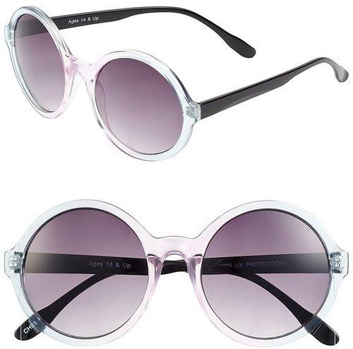 FE NY 'Ombre Circle' Sunglasses