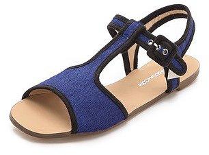 Marais usa T-Strap Haircalf Sandals