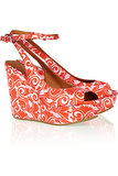 Inject a splash of summery orange into your wardrobe with these Marc by Marc Jacobs wedges ($70, originally $348).