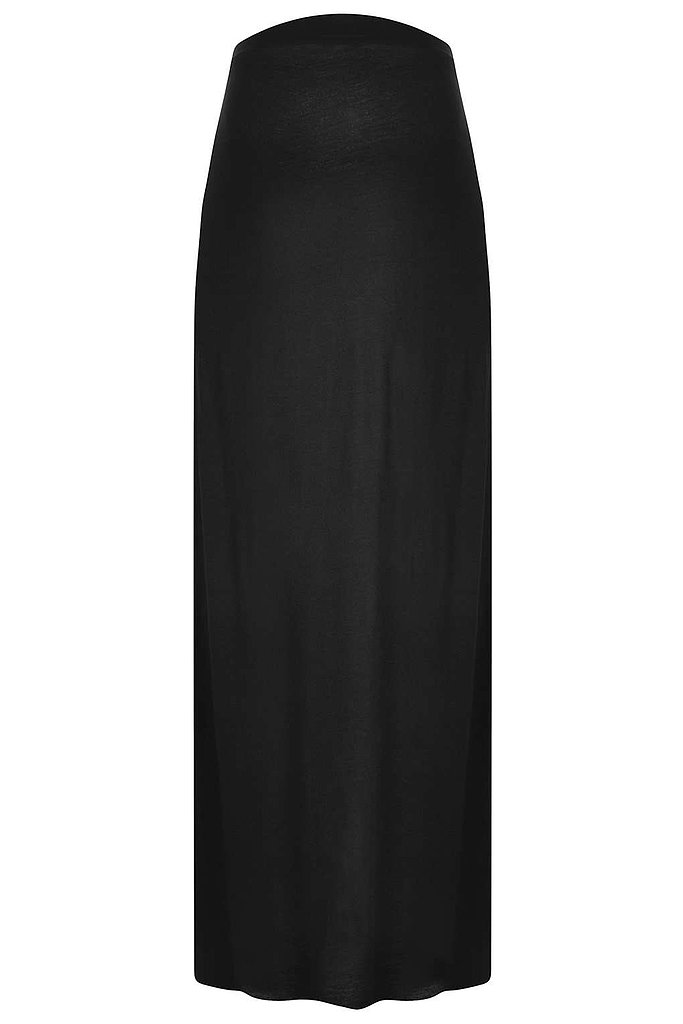 For many moms, a stretchy jersey maxi skirt ($40) is a secret to great transitional maternity style. This version from Topshop features a sexy but subtle back slit — the perfect way to show a little skin, discreetly.