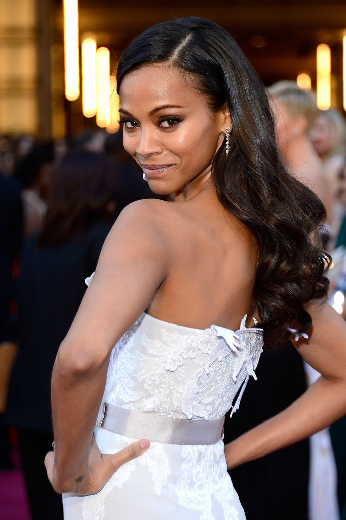 "Zoe Saldana didn't hold back when she was asked about her favorite sexual position on The Conversation With Amanda de Cadenet in April 2012, saying, ""I like missionary and I like being on my knees too. And I love being on top. . . . I love doggy style or standing up."""