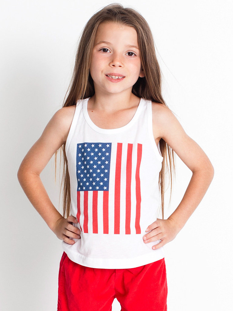 A classic American Apparel flag tank ($14) will easily become a wardrobe staple.