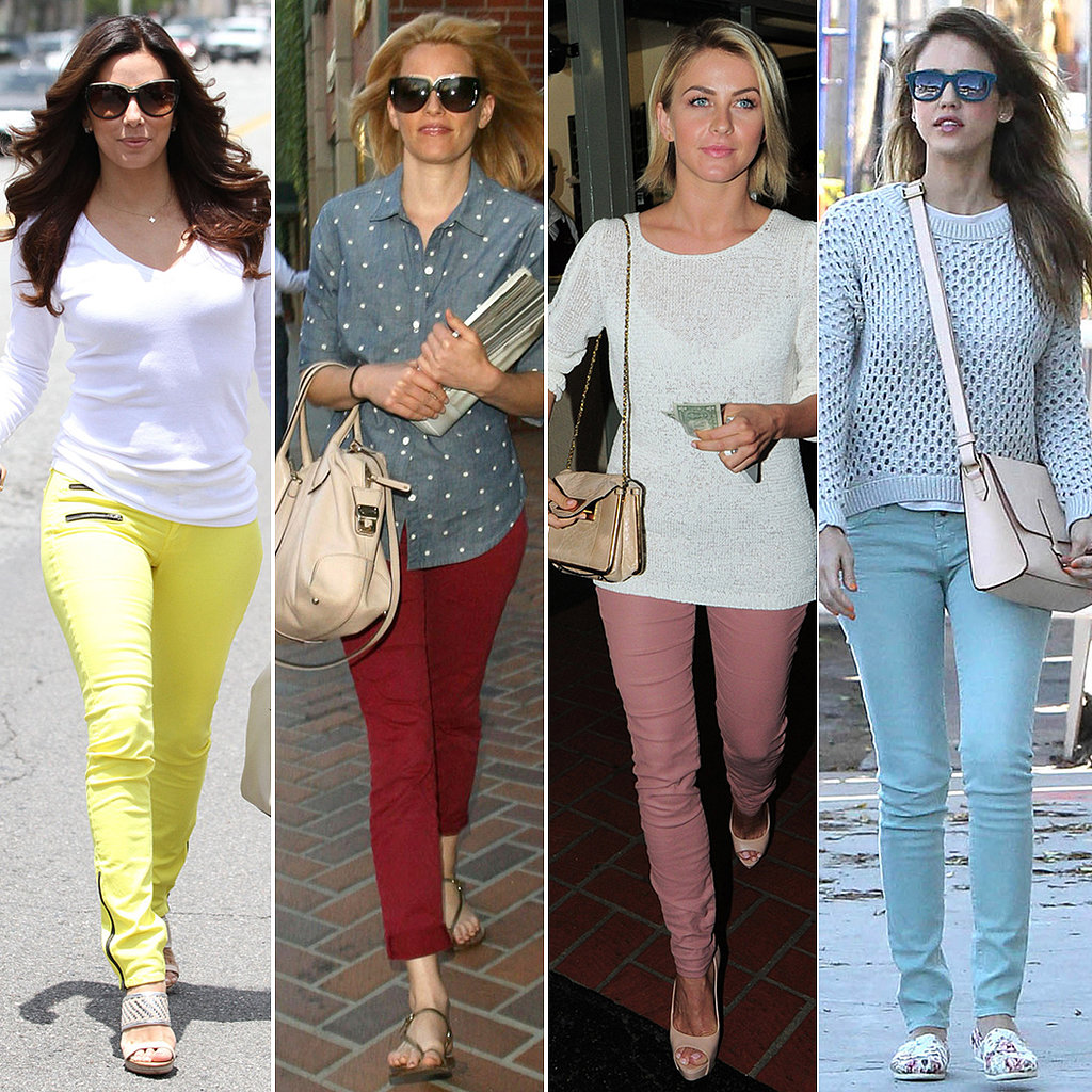 7 Days, 7 Ways: Bring Your Colored Denim Back For Summer