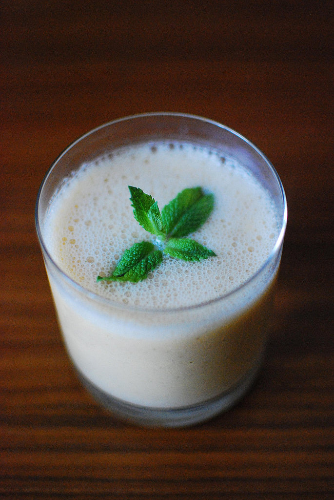Melon, Mint, and Kefir Smoothie