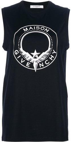 Givenchy logo print tank