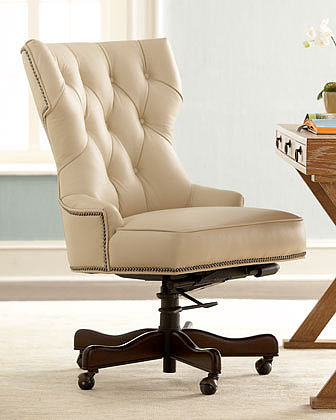 """""""Conroy"""" Leather Office Chair"""
