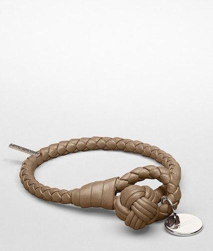 Bronze intrecciato nappa bracelet