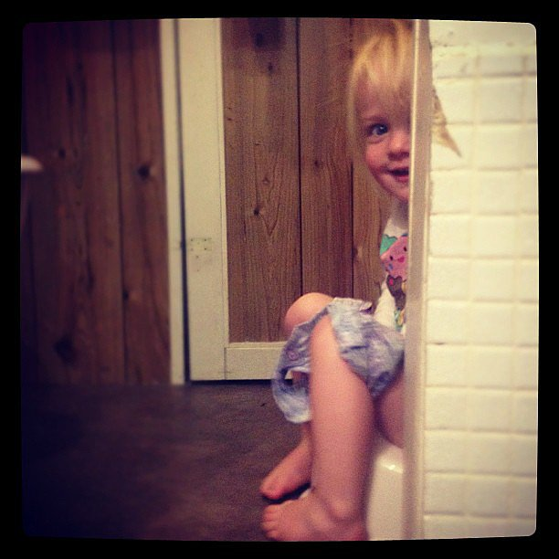 Postbedtime Potty Trip