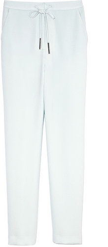 Preorder Opening Ceremony Siege Crepe Pants In Sky Blue