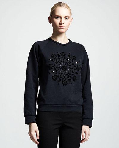 Lanvin Beaded Sweatshirt
