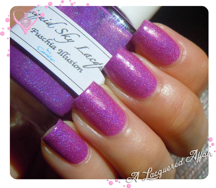 Liquid Sky Lacquer Fuschia Illusion - warm