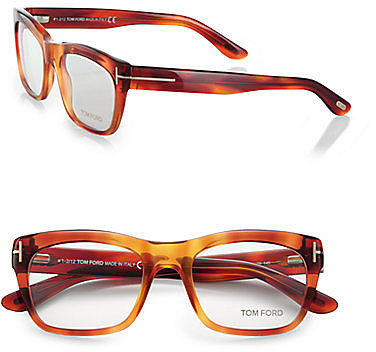 Tom Ford Eyewear Square Acetate Reading Glasses
