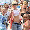 Gwen Stefani in a Crop Top in Long Beach | Pictures