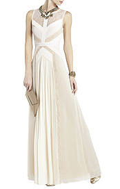 BCBGMAXAZRIA's Avi Pleated Gown