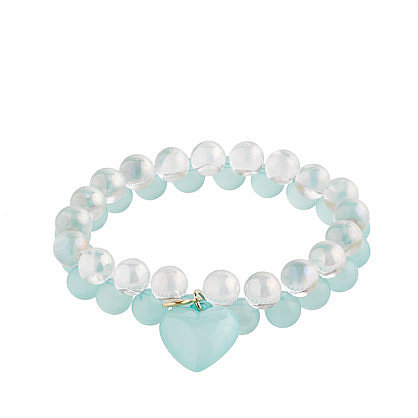 Girls' seaglass & soap bubbles bracelet