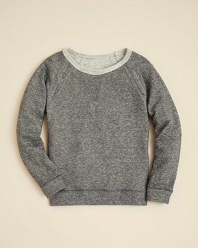Aqua Girls' French Terry Sweatshirt - Sizes S-XL