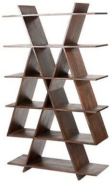 Seesham wood Radius bookshelf