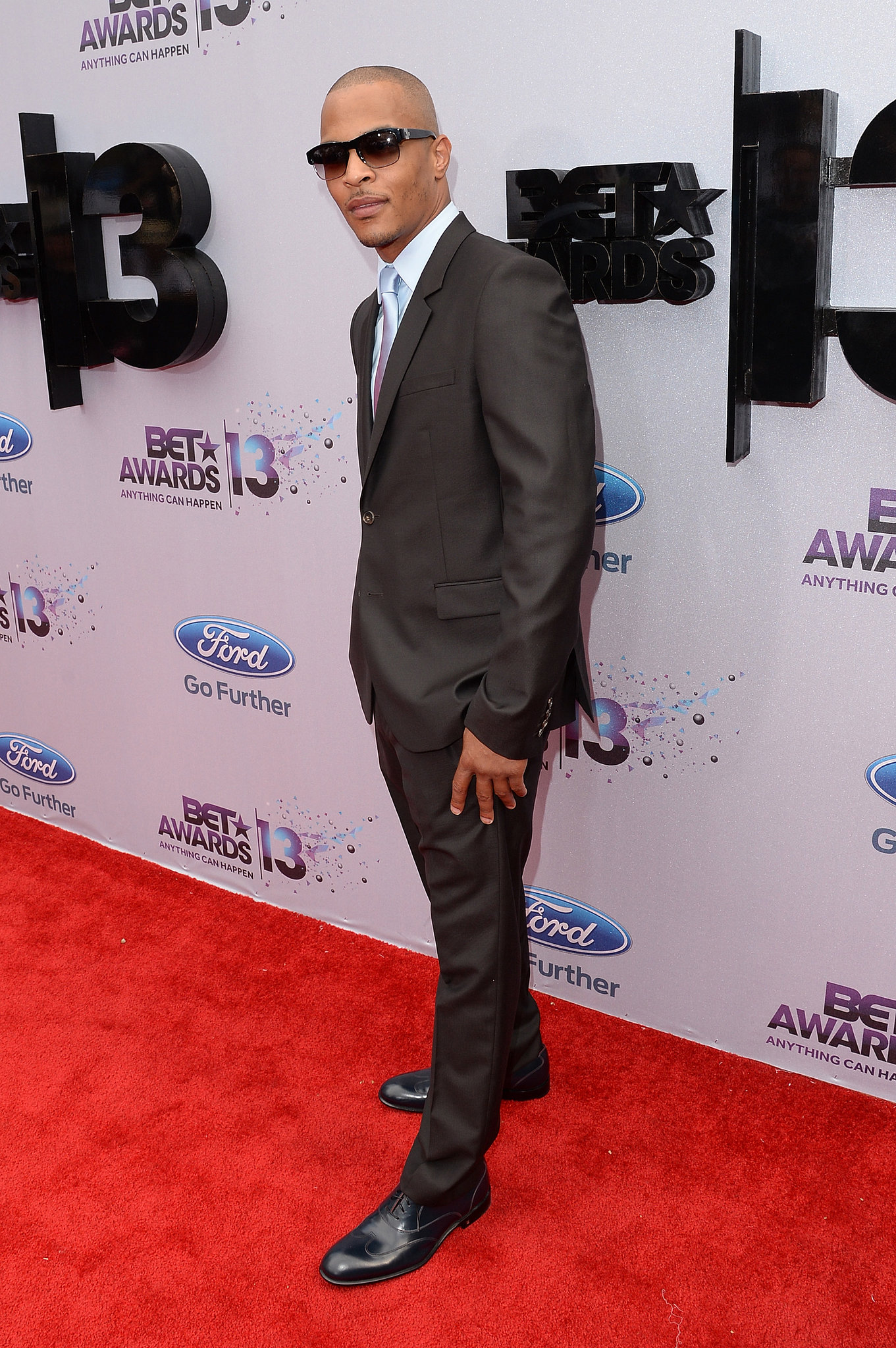 T.I. looked dapper in a suit. | Justin Timberlake, Jamie Foxx, and More Get the BET Party ...
