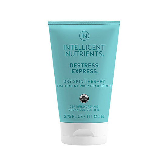 Besides having a calming, soothing aroma, Intelligent Nutrients' Destress Express Dry Skin Therapy ($28) hydrates deeply with a blend of coconut, olive, and castor oils. Natural waxes work to seal moisture in. Time to move those strappy sandals from the back of your closet to front and center.  — JR