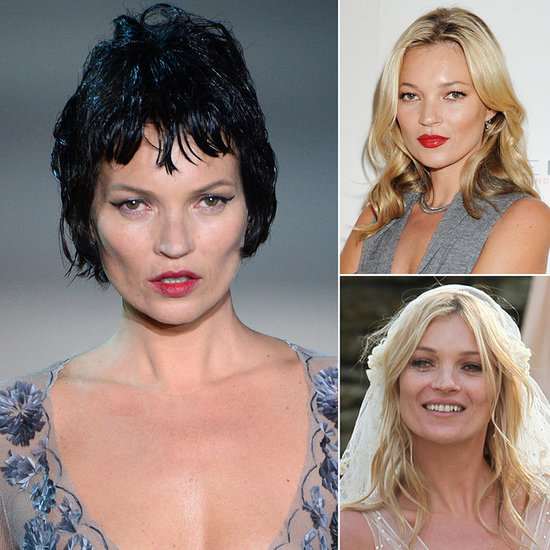 Celebrate Kate Moss's Anniversary With Her Most Memorable Beauty Looks