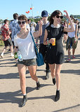 Alexa Chung and Pixie Geldof - Day 2