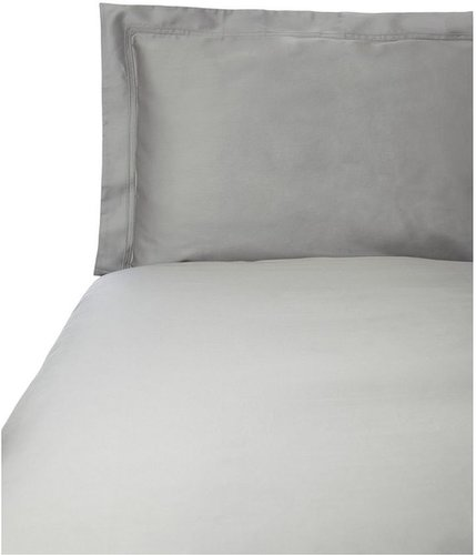 Yves Delorme Triomphe platine king fitted sheet